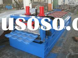 high speed 828/1100 metal roof tile roll forming machine