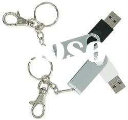 hot sale USB flash drive/matel gift usb swivel/Key Chain