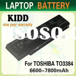 laptop battery PA3384U for Toshiba Satellite A60 series