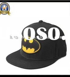 manufacture lovely embroidery flat brim baseball cap