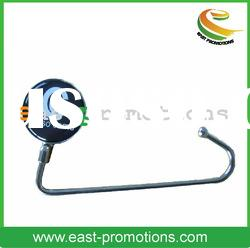 metal bag hanger with full color drawing