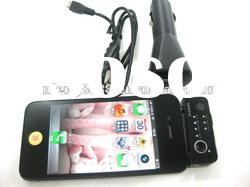 mini wireless FM transmitter for iphone 4s with car charger