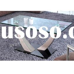 modern tempered glass coffee table CA131