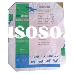 multilayer kraft paper valve bag with block bottom for industrial chemicals/paper bag/packing bag