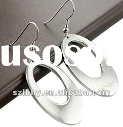 new style earrings + stainless steel hoop earring jewelry for women