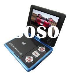 newest design 7inch portable DVD player with tv tuner and radio KSD-718(16:9)