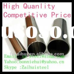 offer decorative welded stainless steel round tube 38mm in grade 201 304 316 430