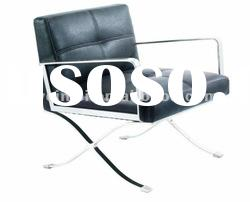 office furniture Elegant design modern stainless steel PU leather office chair A002B