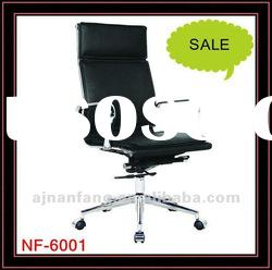 pu leather manager chair,office chairs, functional chairs, chromed armrest and base chairs