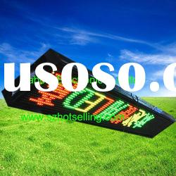 semi-outdoor full color led display / Outdoor GRY LED Display, Unit size 256(L)*25.6(H)*20(D)CM