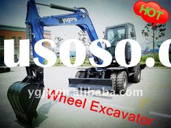 small digger,2012 new light wheel excavator, best price,high quality