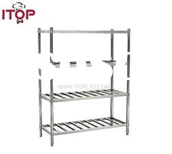 stainless steel AISI201 Economical 4 Tiers Storage Rack