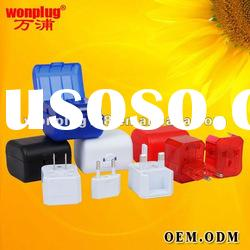 universal travel power adapter plug suit for 150 countries with CE,ROHS certificate