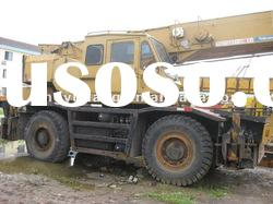 used rough terrain crane katoKR-25H 25t in shanghai