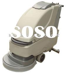 walk behind floor scrubber dryer cleaning machine