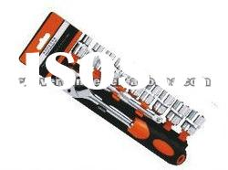 11PCS 1/2 DR SOCKET WRENCH SET