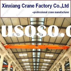 1 ton Single Girder Overhead Crane with Electric Hoist