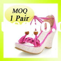 2012 latest design fashion high heels wedges shoes and wedges high heel shoes and 2012 wedge sandal