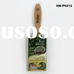 "2.5""(63.5mm)SHORT BAMBOO HANDLE BRUSH"
