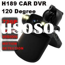 720p car camera video recorder Night vision 720P with 2.5inch LED / 120degree / motion detection