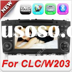 7'' 2 din HD Touch Screen DVD Player for Mercedes-Benz C-Class W203 CLC G-Class w467