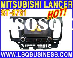 7inch car radio/video for old MITSUBISHI Lancer with bluetooth,gps,radio,V-CDC,function