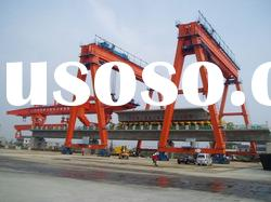 900t heavy duty bridge crane for high speed railway