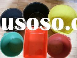 All kinds of Plastic Bucket with different colors