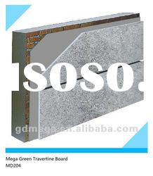Anti-freezing travertine building facade panel MD204