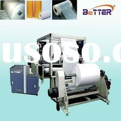 Baby/adult diaper backsheet hot melt spraying machine