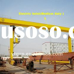 Best price single girder gantry crane 20t
