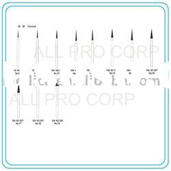 Conical Diamond Dental Cutters