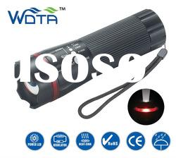 Cree led metal adjustable focus flashlight