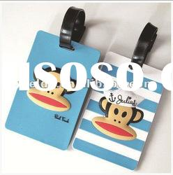 Cute plastic luggage tag