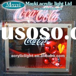 ES-90 Acrylic LED advertising sign