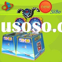 GM6213 amusement game machine,coin operated ticket machine,simulator lottery game machine