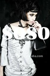 Gothic printed Long sleeve T-shirt T-272 from PUNKRAVE