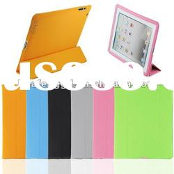 HOT SELLING Double Side Smart Cover for iPad 3 black