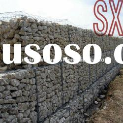 Hot-dipped Galvanized Gabion Basket Gabions for sale