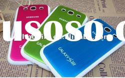 Metal wire drawing mobile phone accessory for Samsung I9300