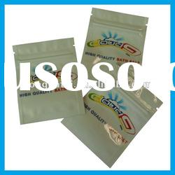 Mini /small aluminum foil zipper bags/miniziplock aluminum foil bag with cloud