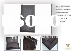 SPECIAL GENUINE LEATHER MENS WALLET - ANTI-BACTERIAL WALLET