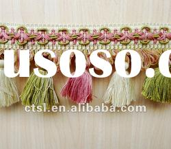 SPRING SCENERY TASSEL FRINGE FOR DECORATION CURTAIN ACCESSORY