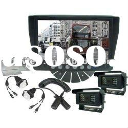 Trailer cameras system use for truck and trailer truck