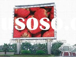 advertising ourdoor led display screen sign