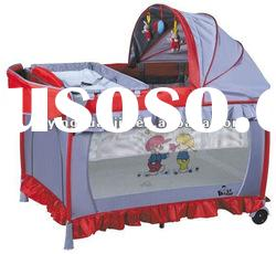 low price best selling foldable baby playpen,baby crib,baby travel cot,baby game bed