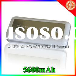 mobile power bank battery usb charger 5600mah