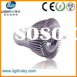 silver housing gu10 hotel lighting commercial led spots