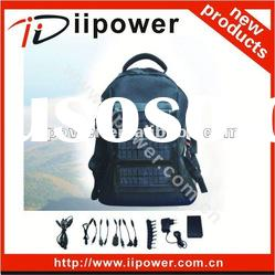 solar laptop bag charger back up battery with customized logo