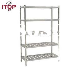 stainless steel AISI201 5 Tiers Storage Rack